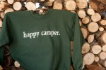 happy camper. Adult Sweat Shirt